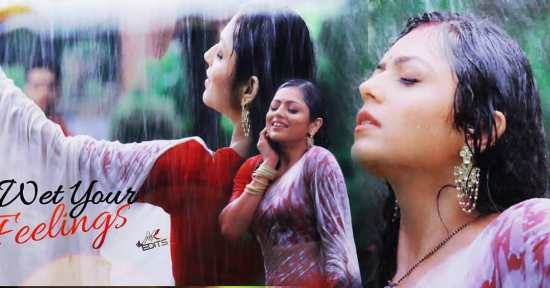 - wet Your - feelings . - Rain _heart_eyes_ - DrashtiDhami - SilsilaBadallteRishtonKa - Nandini